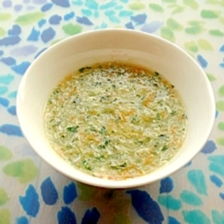 ササミの野菜たっぷりスープ(離乳食 中期)