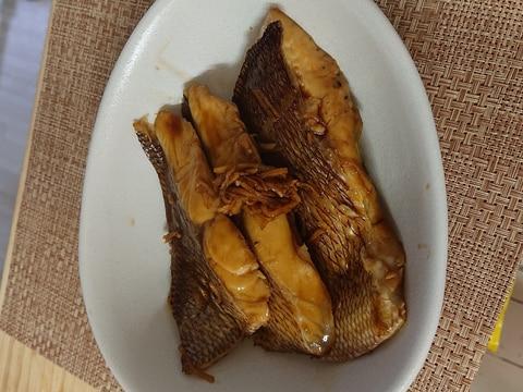 真鯛の煮付け