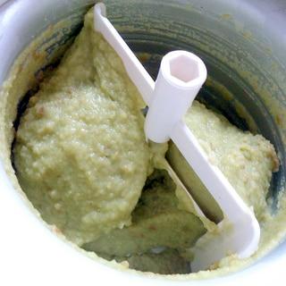 アボカドハチミツアイス