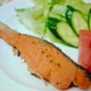 手軽で美味しい!銀鮭のバター焼き♪