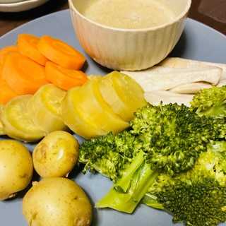 ホットクックで☆蒸し野菜