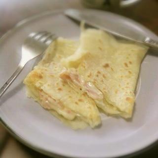 ベーコンとチーズの 簡単ブリトー