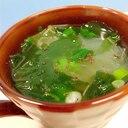 マグカップで簡単♪ワカメと万能ネギの春雨スープ♪
