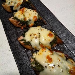 鰹のたたきアレンジ★大葉チーズ焼き