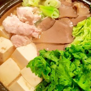 きのこ鶏鍋♩