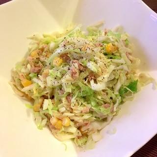 しんなり☆キャベツ・ツナ・コーンのサラダ