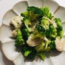 味付け簡単☆ささみとブロッコリーの塩胡椒炒め