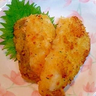 白身魚のカレー香味パン粉焼き