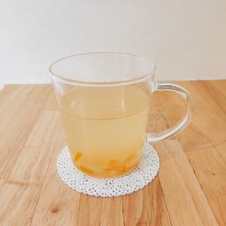 生姜でピリッと*あったか柚子茶