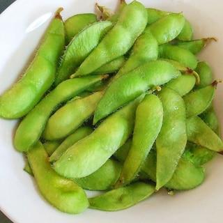 レンジで枝豆の茹で方