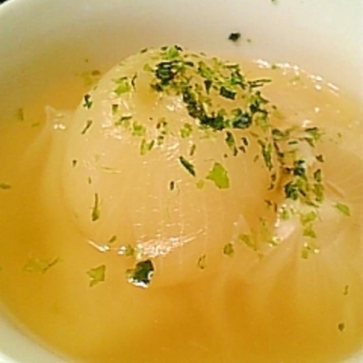圧力鍋で小たまねぎの丸ごとスープ♪