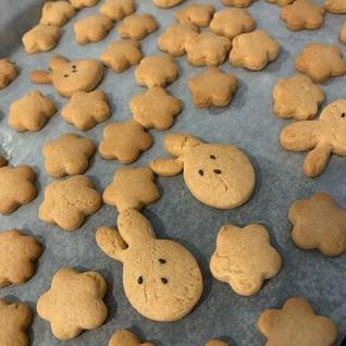子供とホットケーキミックスで作る!簡単クッキー