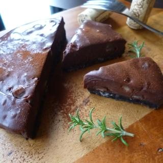 焼かないチョコレートケーキ(小さな食べきりサイズ)