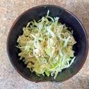 キャベツと卵の魔法サラダ