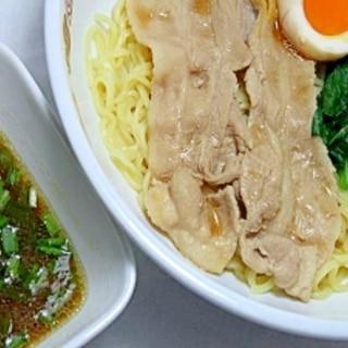 薄切り肉とインスタントラーメンで簡単★つけ麺★