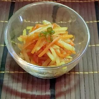 じゃが芋と人参の簡単な副菜