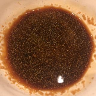 姫路おでんの生姜醤油
