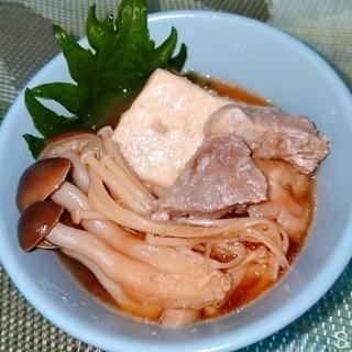 【炊飯器】肉豆腐【簡単】