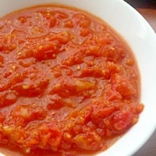 ミニトマトで作るトマトソース