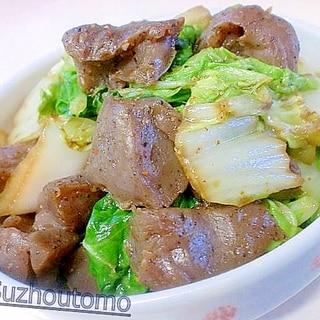 辛さが旨い こんにゃくと白菜の唐辛子炒め