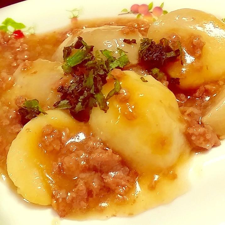 ひき肉 里芋 里芋のそぼろ煮 レシピ