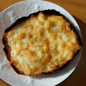 オリーブオイルとチーズ☆トースト