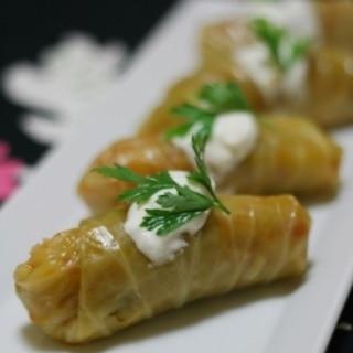 トルコ家庭料理★ロールキャベツ(ラハナサルマス)