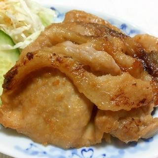 魚焼きグリルで豚の味噌焼き