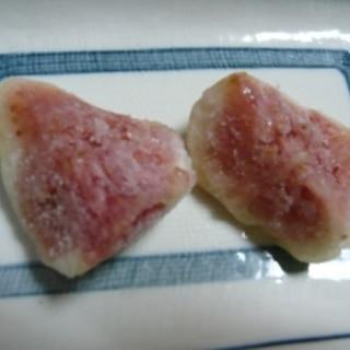 いつでも食べられる、甘~い冷凍いちじく☆