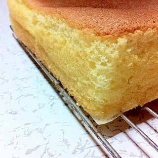 基本のスポンジケーキ スクエア型(丸型でもOK!)
