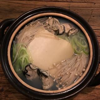 牡蠣吸い鍋
