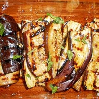 イタリア風、焼きナスの前菜