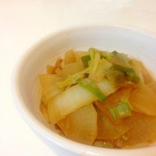 ♡冬野菜 白菜×大根×白ネギ 味噌煮込み♡
