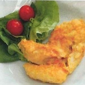 鶏ささ身のチーズカレー風味焼き