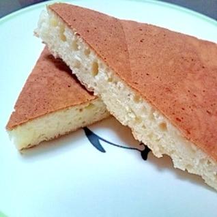 チーズ入りホットケーキ