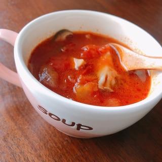 ❦ごくごく飲める!ウェイパーで作るトマトスープ