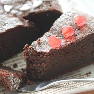 【楽天市場商品で作る】糖類ゼロチョコガトーショコラ