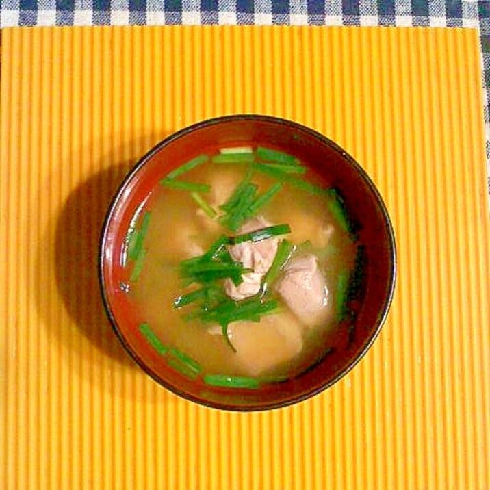 味噌汁 鮭