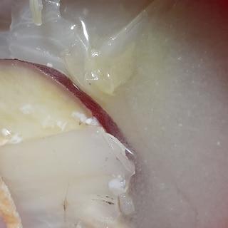 サツマイモと白菜の味噌汁