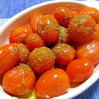 絶品!プチトマトのガーリックソテー