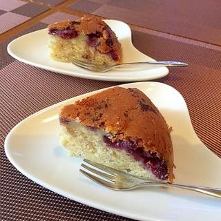 炊飯器で★お手軽ブルーベリーケーキ