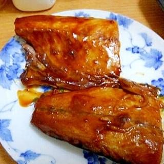 """名古屋名物""""つけてみそかけてみそ""""で、鯖味噌煮!"""