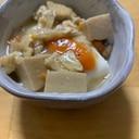 豆腐の、高野豆腐と野菜のあんかけ