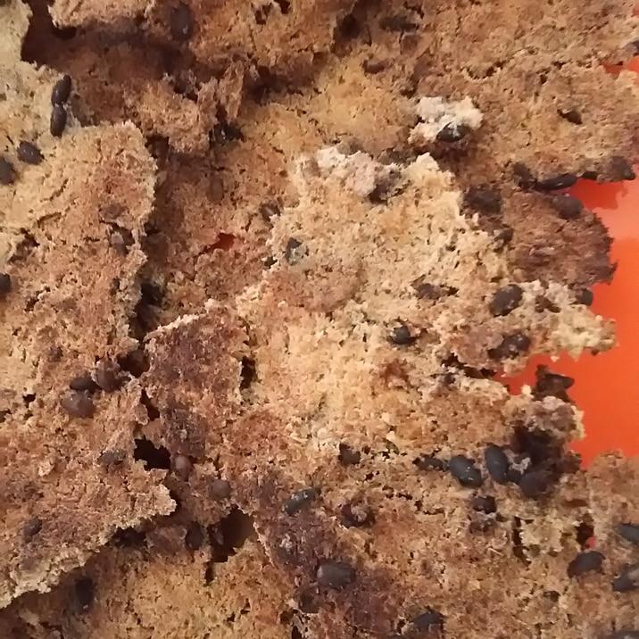 材料3つ!粉なし卵なし生おからフライパンクッキー!
