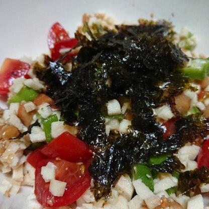 美味しい! 海苔の風味も効いてサラサラ食べれます。 暑い時期、食欲失くした時にいい♪