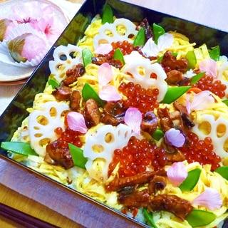 簡単に時短!雛祭り&お祝いちらし寿司♪