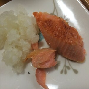 鮭のバター醤油焼き フライパンで♥