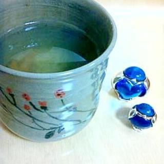 梅干し緑茶