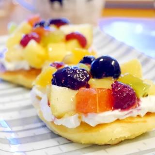 フルーツタルト風パンケーキ
