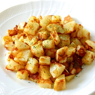 ワインによく合う!ポテト&カラスミのグリル焼き
